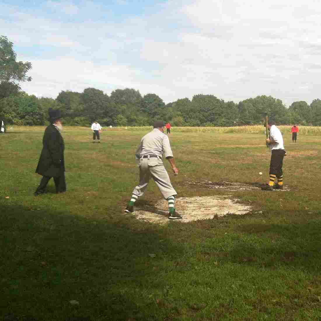 Pitching Like It's 1860, Teams Play Ball With Vintage Flair