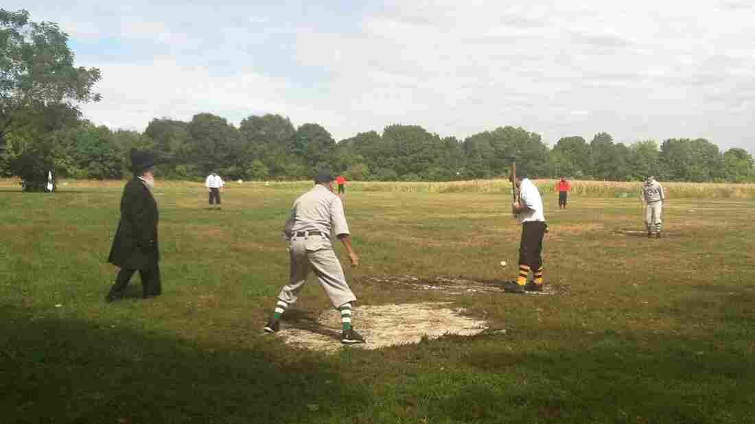 The Essex Base Ball Organization, a vintage baseball league, holds its games on a farm in Newburyport, Mass.
