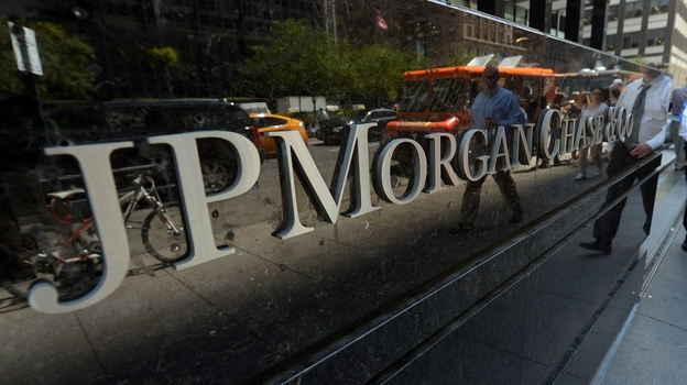 JP Morgan Chase & Company headquarters in New York. (AFP/Getty Images)
