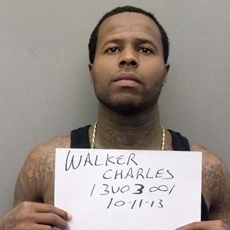 Convicted killer Charles Walker in a photograph taken on Oct. 11 by the Orange County, Fla., Sheriff's Office -- after he escaped from prison. Walker went to the Orange County Jail to register as a felon.