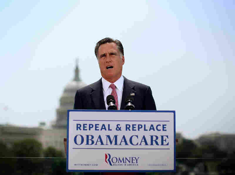 Former Massachusetts Gov. Mitt Romney campaigned to repeal the Affordable Care Act. Did that further delay implementation of the law?