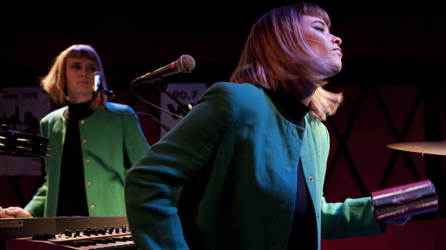 Lucius was just one of the many bands worth discovering at this year's CMJ festival. (NPR)