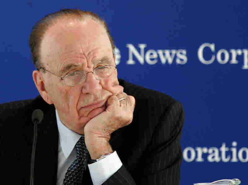 Media mogul Rupert Murdoch's vast empire encompasses everything from newspapers to television networks to tabloids.