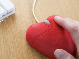 Wait, where can we get a heart-shaped mouse?