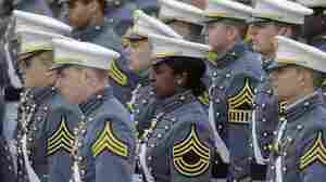 At the U.S. Military Academy in West Point, N.Y., the graduating class has been about 16 percent female since the institution first accepted women more than 30 years ago.