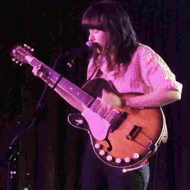 """Australian singer Courtney Barnett. I saw her three times during the festival and couldn't get enough of her.  One of my favorite performers."" - Bob Boilen"