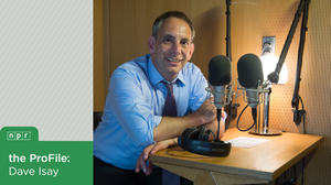 StoryCorps Founder Dave Isay in the recording booth located in New York City's Foley Square.