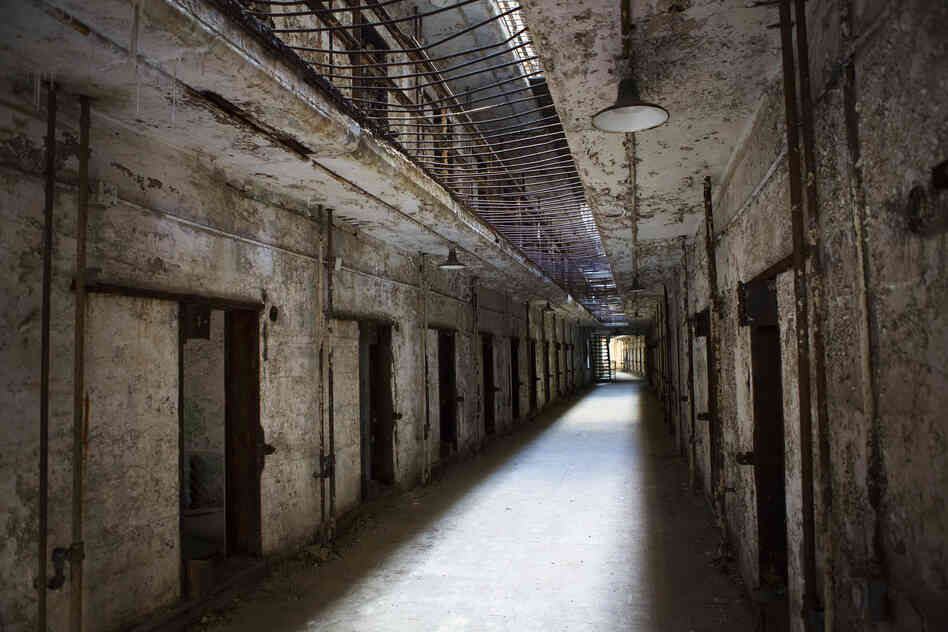 Cellblock 14 is closed to tourists to preserve it from further decay. Built in 1927, it included bars between the first and second floors to prevent prisoners from falling below if pushed.