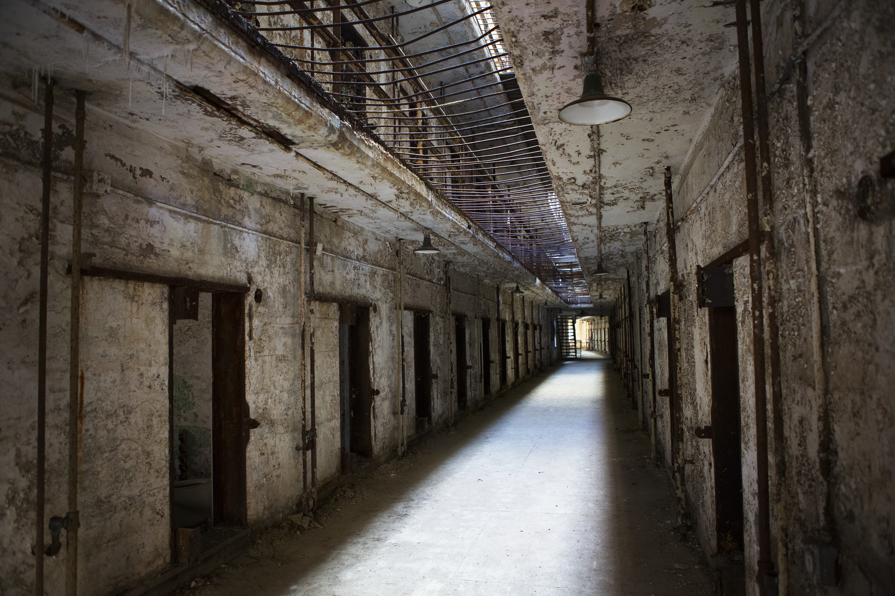 At An Abandoned Philadelphia Prison All Hell Breaks Loose