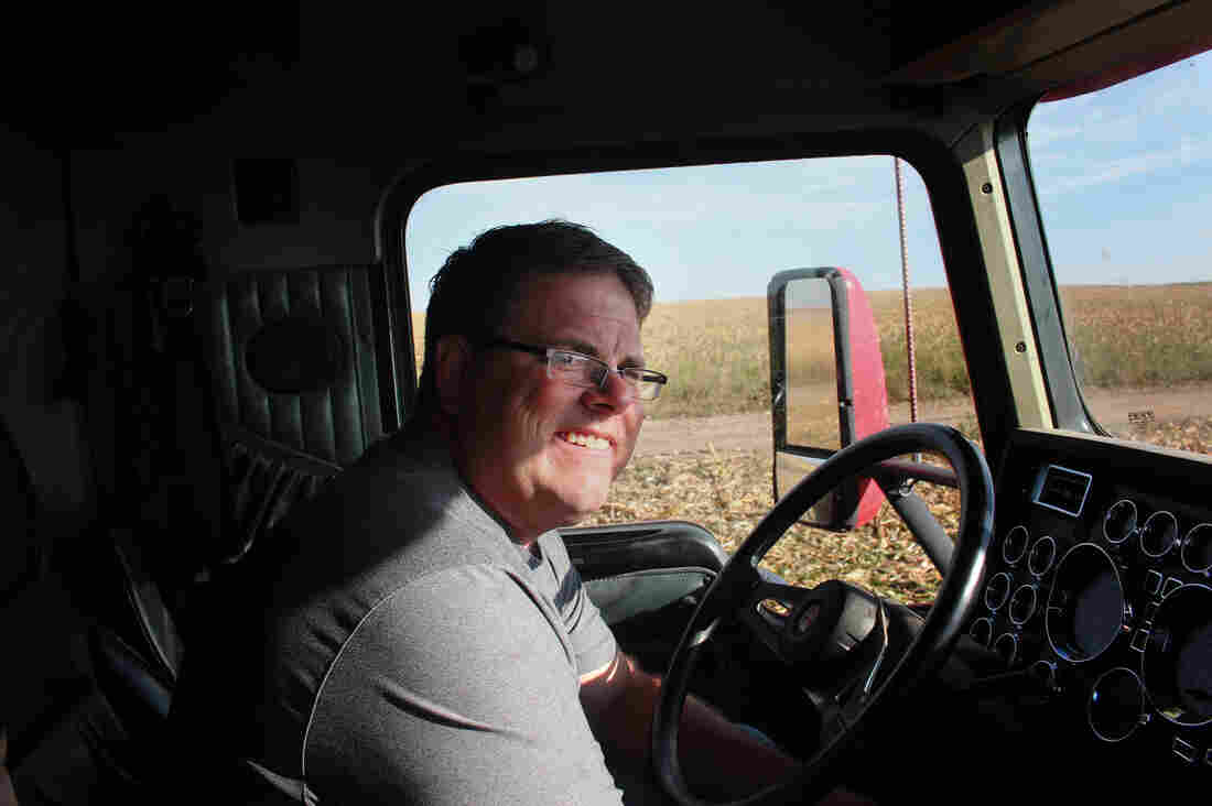 Mitchell Baalman, who farms 12,000 acres near Hoxie, Kan., pushed hard to get the farmers in his community to agree to pump less water from the aquifer.