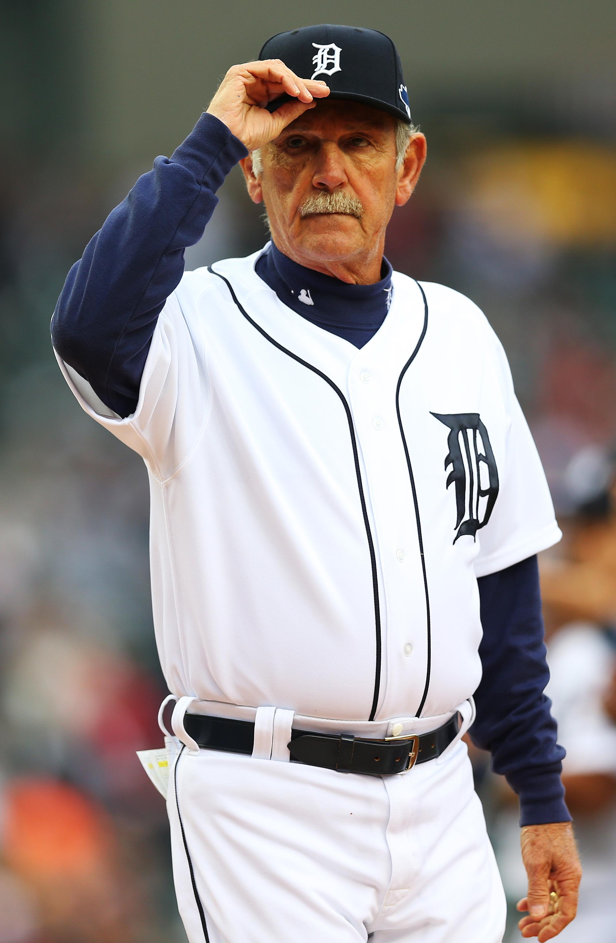 Detroit Tigers Manager Jim Leyland Steps Down