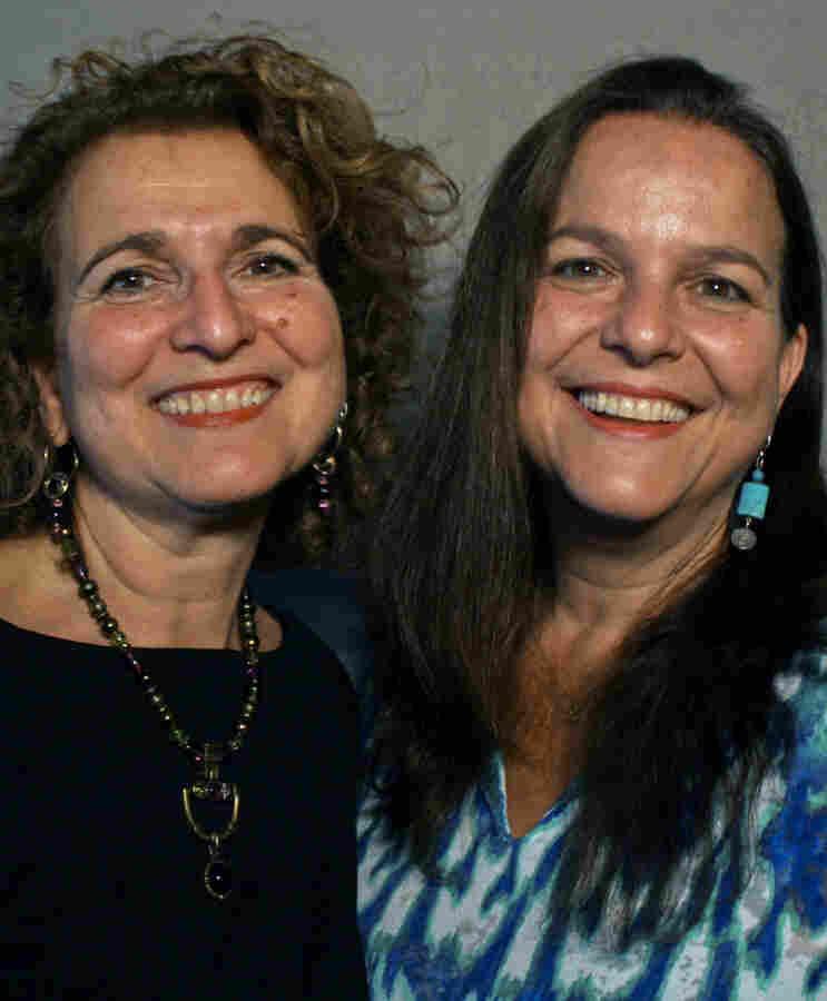 Priya Morganstern (left), 57, and Bhavani Jaroff, 56.