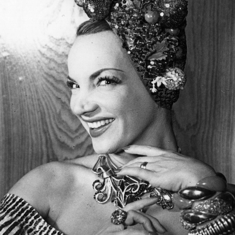 Nobody rocked the fruit look quite like Carmen Miranda.