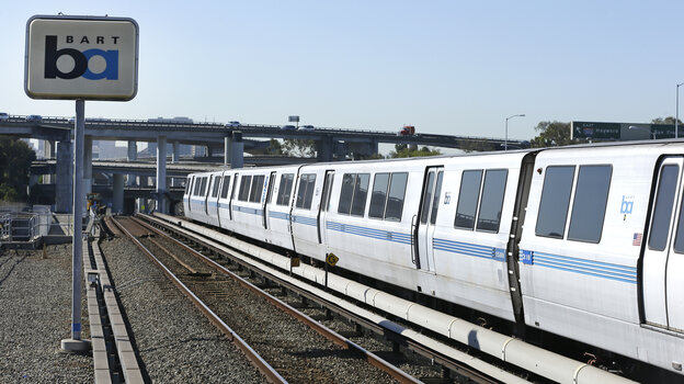 Ready to go back into service: Bay Area Rapid Tra