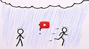 Walk Or Run In The Rain? There's An Equation For That