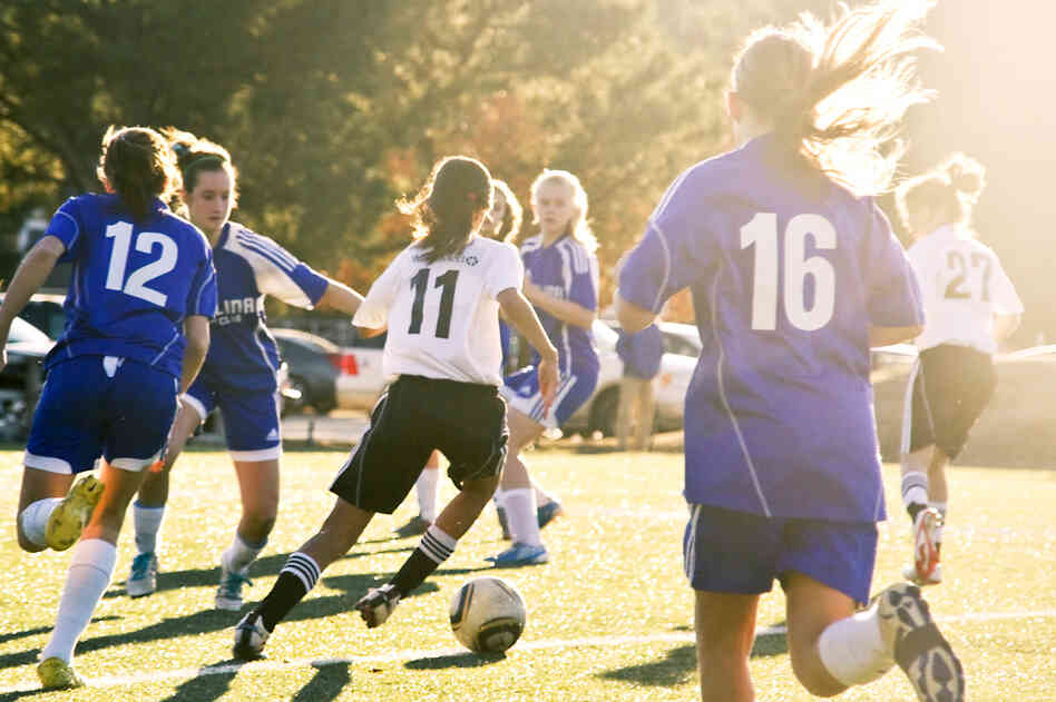 Very few girls get the recommended 60 minutes of exercise daily. But physical activity could help with school, a study says.