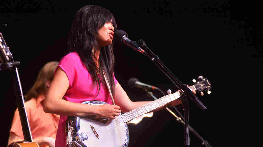 Thao & The Get Down Stay Down performing live on Mountain Stage.