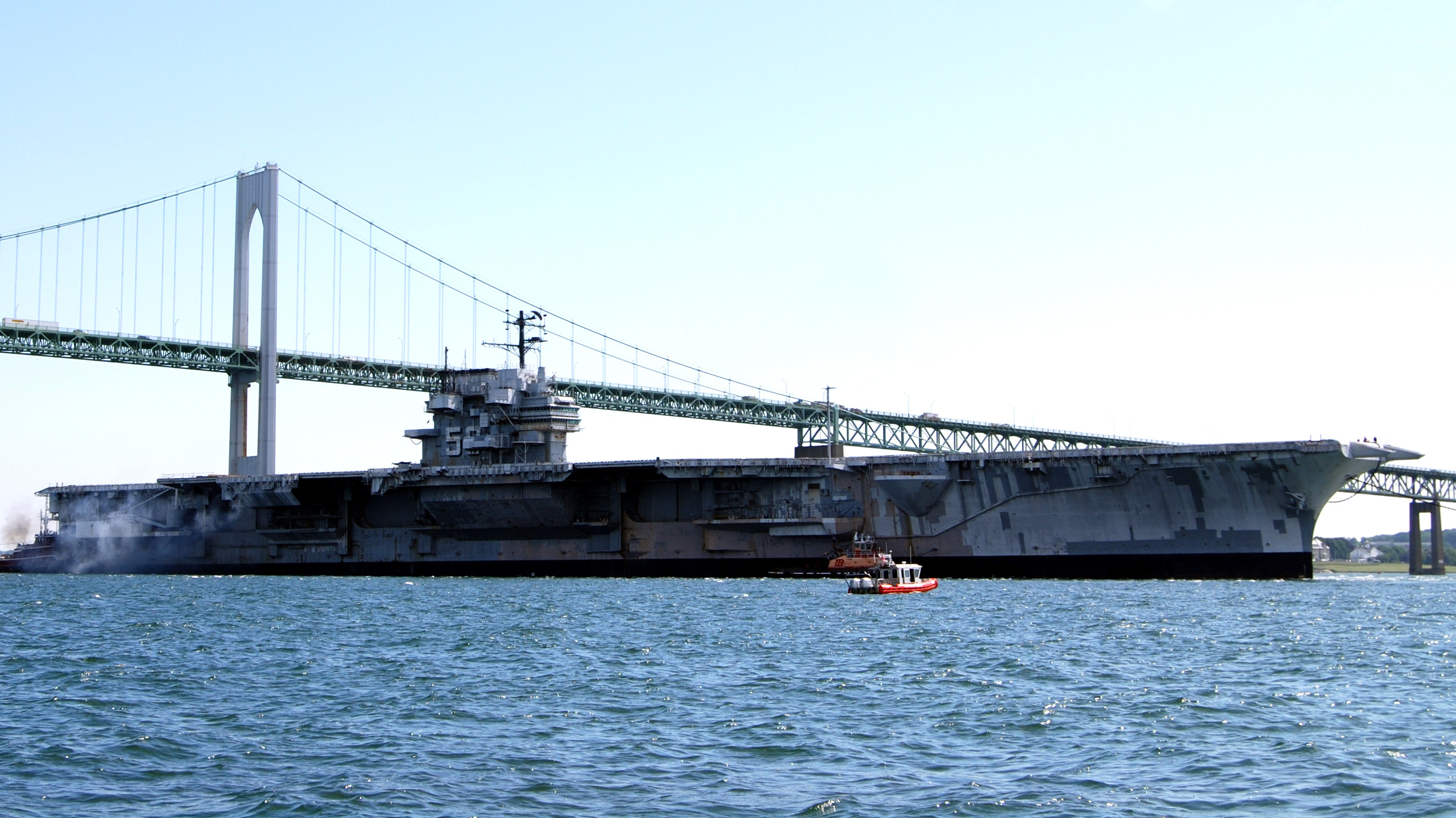 Ex-Navy Carrier USS Forrestal Sold For 1 Cent