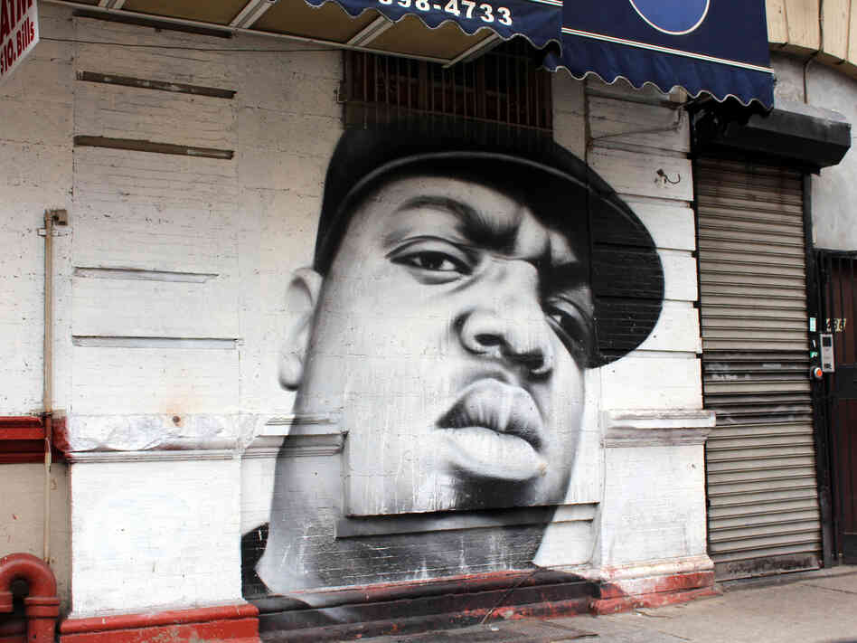 Biggie's likeness can be seen all over Brooklyn, but a push to name a corner after the slain rap icon has met with stiff resistance from a local community board.