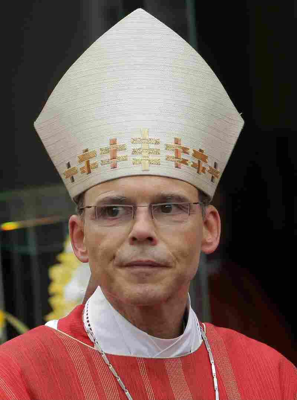 Bishop of Limburg Franz-Peter Tebartz-van Elst.