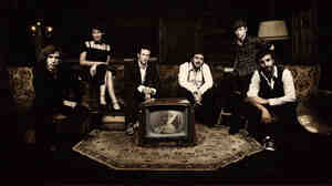The members of Caravan Palace are practitioners of electro-swing.