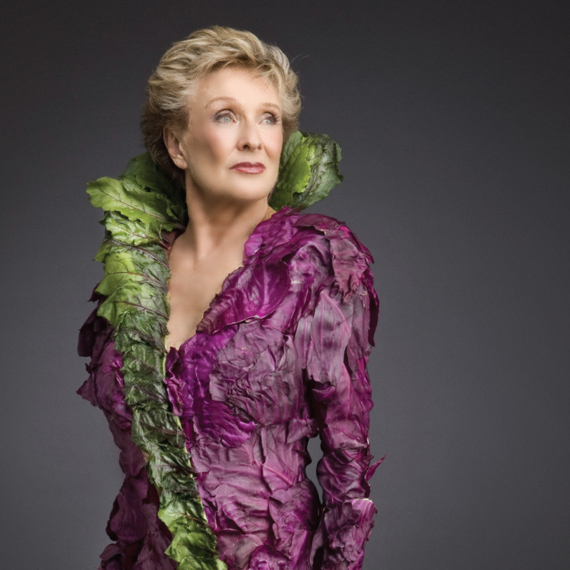 Cloris Leachman models veggie chic in a campaign for PETA.