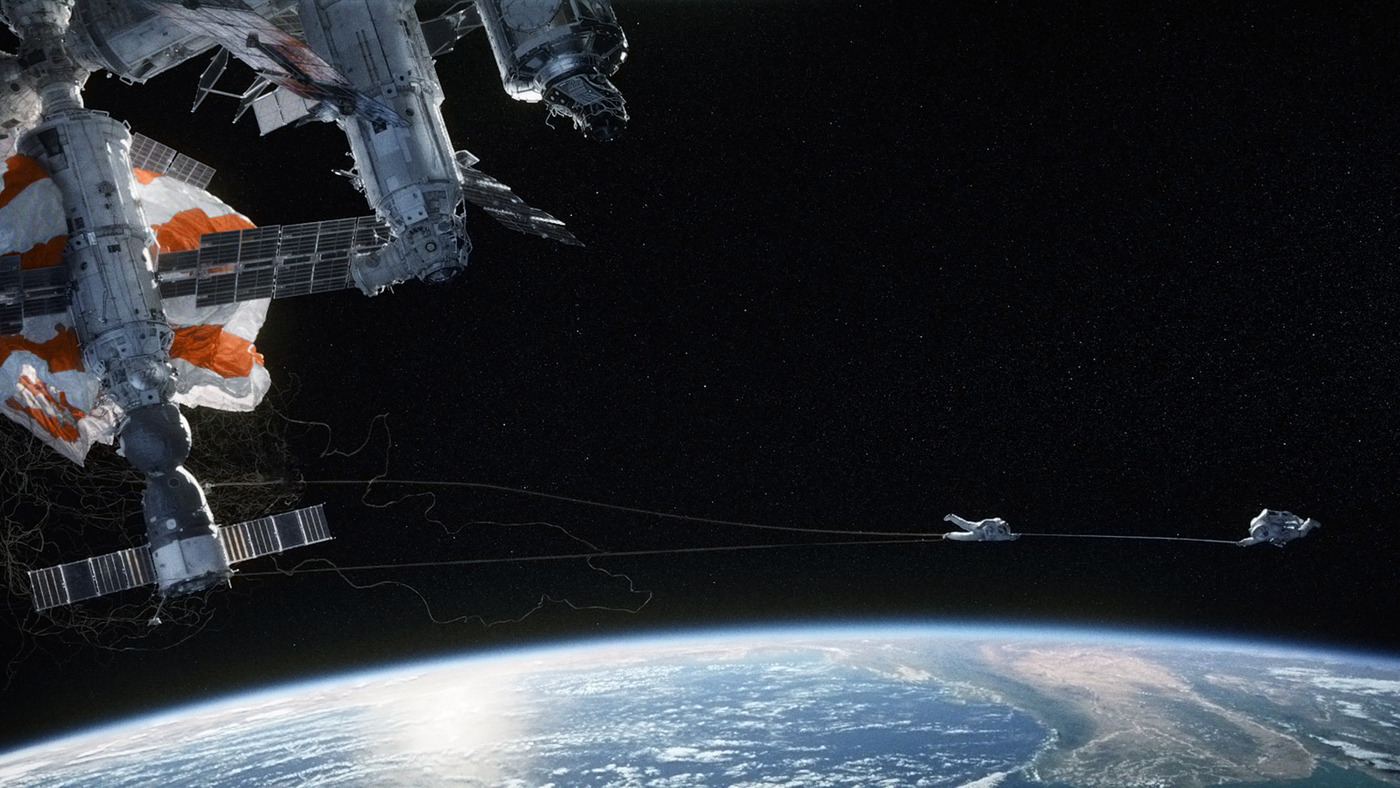 The Movie Gravity Puts Us In Our Place 13 7 Cosmos And Culture Npr