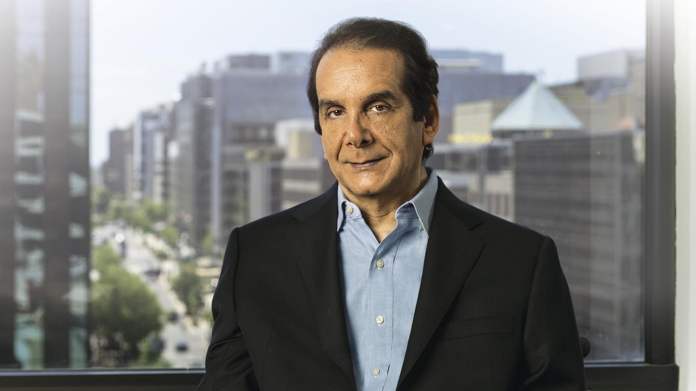 charles krauthammer essays Charles krauthammer, winner of the 1987 pulitzer prize for distinguished commentary, writes an internationally syndicated column for the washington post writers group krauthammer, named by the.