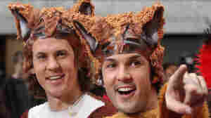 """The Norwegian duo Ylvis (brothers Bard and Vegard Vlvisaker), who ask """"What Does the Fox Say?"""""""