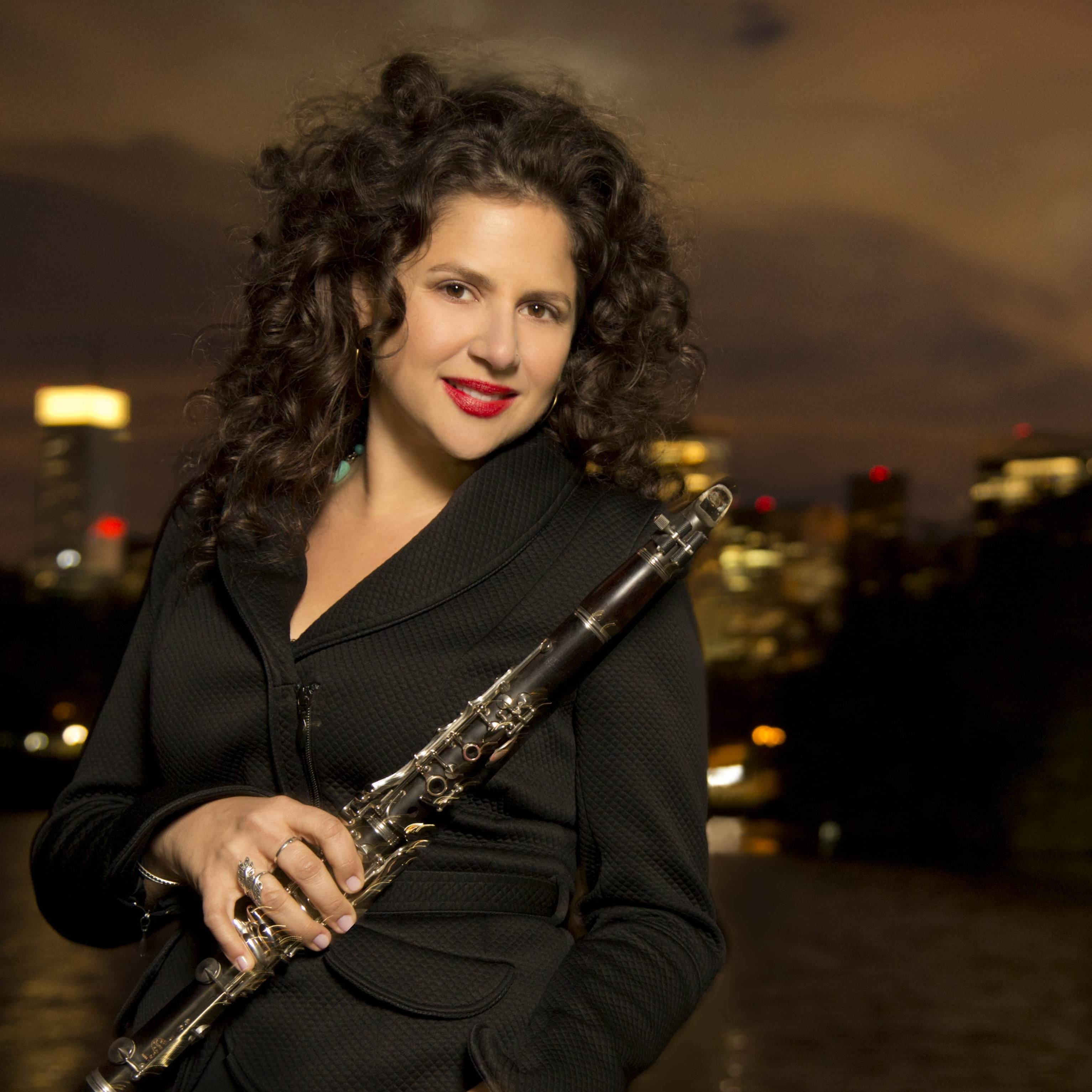 Jazz clarinetist Anat Cohen has a new album out called Claroscuro.