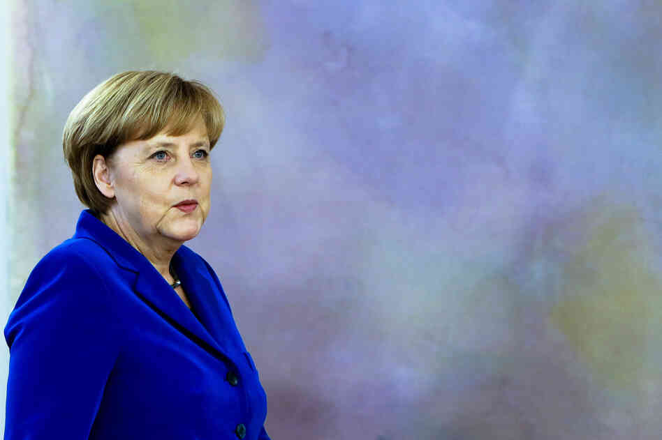 German Chancellor Angela Merkel.