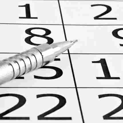 Which date should be circled on your insurance calendar?