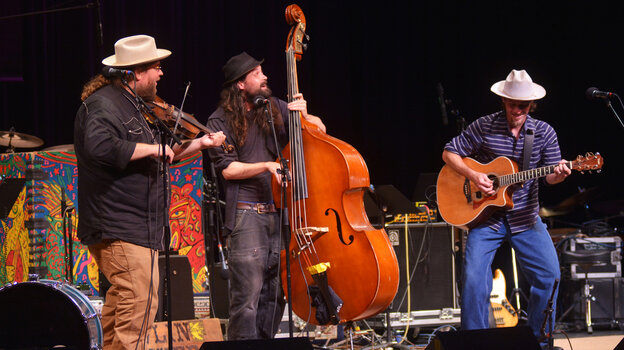 The Howlin' Brothers performing live on Mountain Stage.
