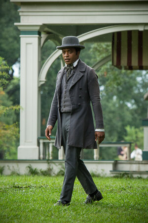 Chiwetel Ejiofor plays Solomon Northup, a free black man in upstate New York who was kidnapped into slavery in 1841 and won his freedom 12 years later. The film 12 Years a Slave is an adaptation of Northup's 1853 memoir.