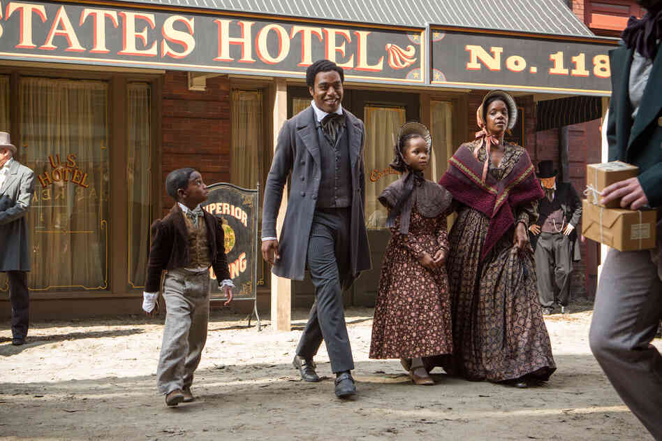 12 Years a Slave, starring Chiwetel Ejiofor, is based on an 1853 memoir by Solomon Northup, a free black man in upstate New York who was kidnapped into slavery in 1841.