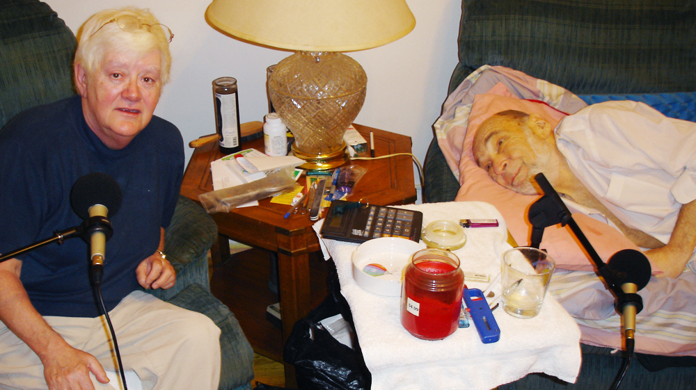 The Perasas' StoryCorps interview in 2006, not long after Danny was diagnosed with pancreatic cancer.