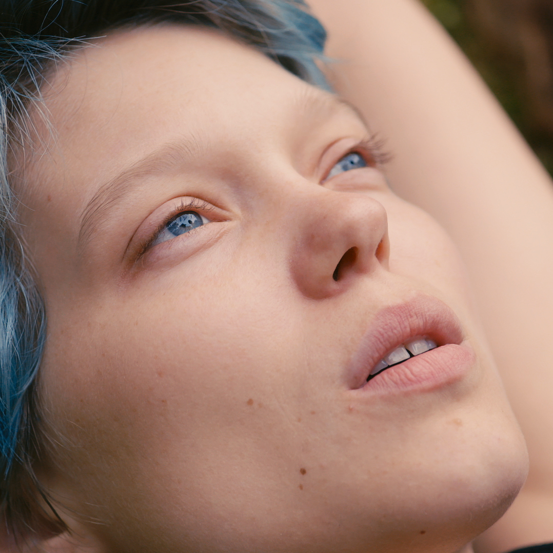 Blue won the Palme d'Or at the Cannes Film Festival this year, and for the first time it was awarded not just to the director, but also to Seydoux (above) and Exarchopoulos.