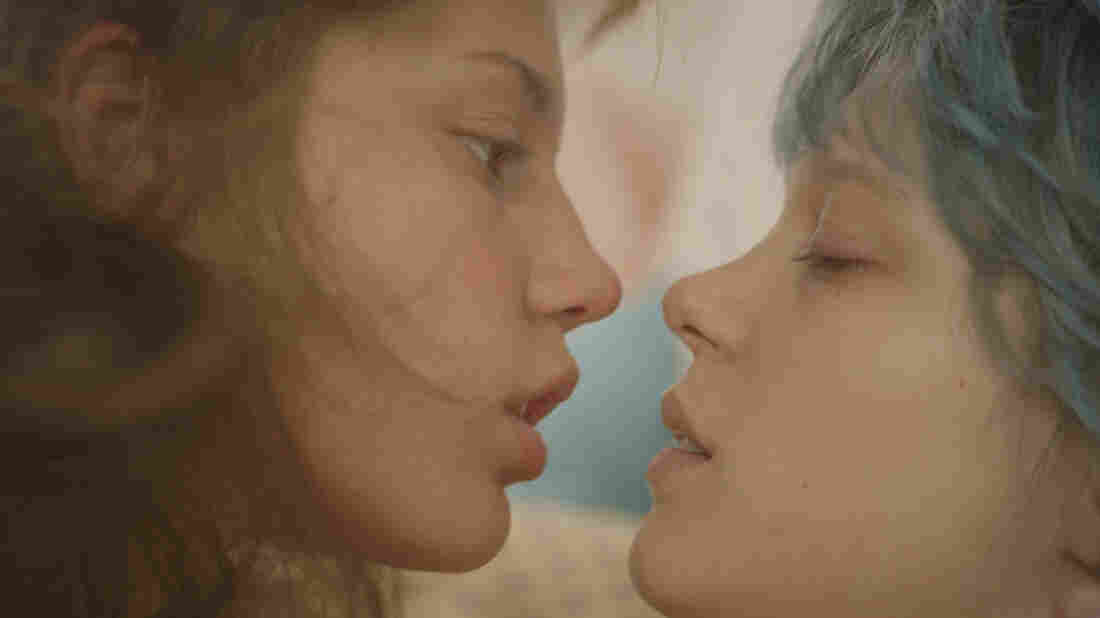 Blue Is the Warmest Color chronicles the love affair between high school student Adèle (Adèle Exarchopoulos, left) and Emma (Léa Seydoux), who is older and more experienced.