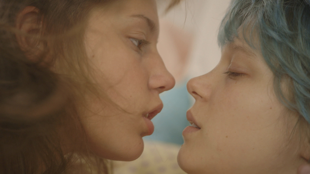 Blue Is the Warmest Color chronicles the love affair between high school student Adèle (Adèle Exarchopoulos, left) and Emma (Léa Seydoux), who is older and more experienced. (IFC Films/Sundance Selects/Wild Bunch)