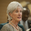 Health and Human Services Secretary Kathleen Sebelius speaks Thursday in Phoenix.