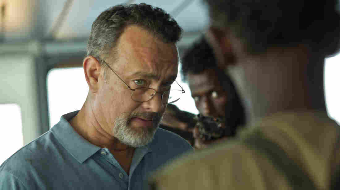 "Tom Hanks stars in Captain Phillips, a film that's recently been subject to a ""whisper campaign"" of pre-Oscars criticism."