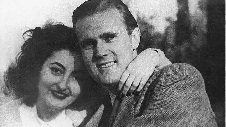 CBS correspondent George Polk and his wife, Rea, in 1948, shortly before his murder on May 8 of that year in Greece.