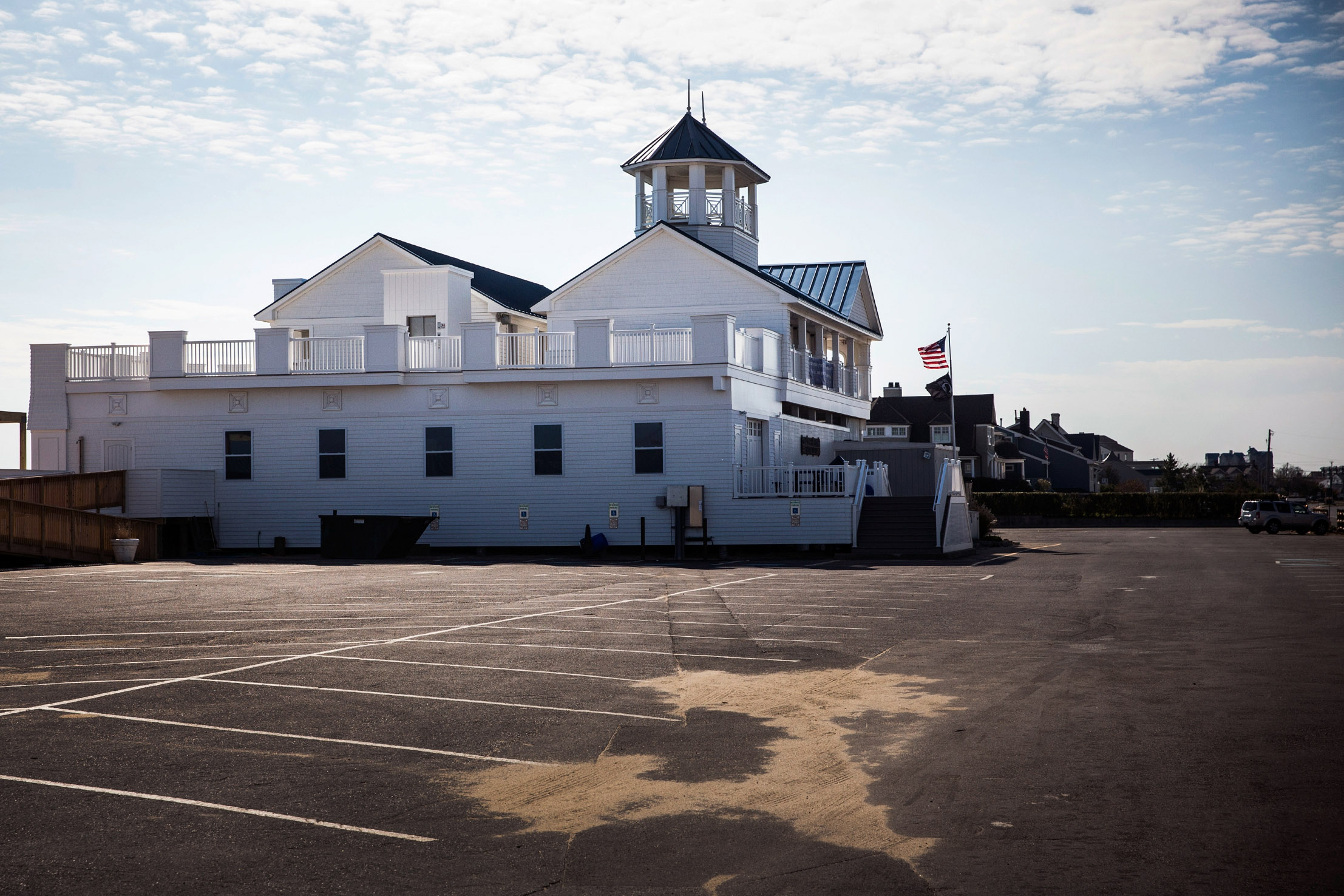 The Monmouth Beach pavilion on Oct. 22, 2013.