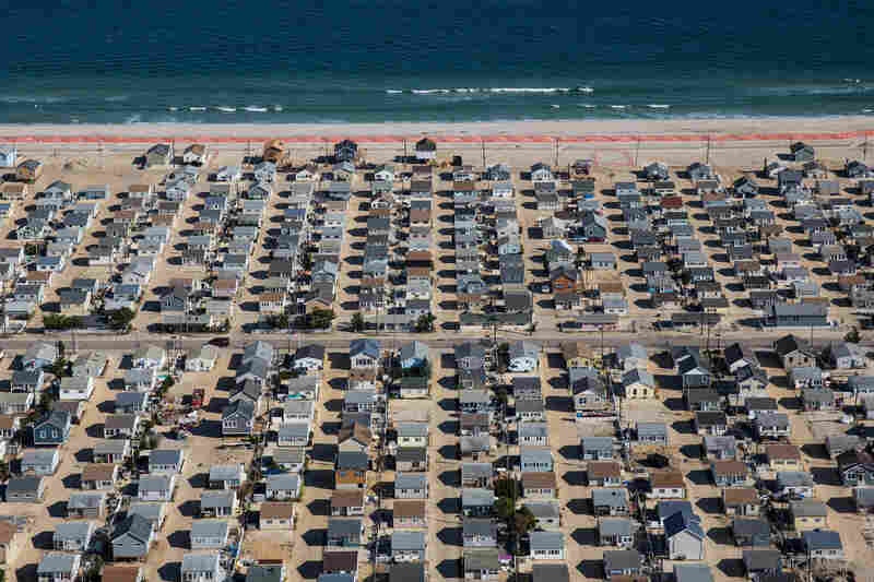 Homes in Seaside Heights, N.J., 2013.
