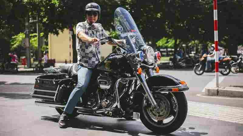 Ho Chi Minh Harley