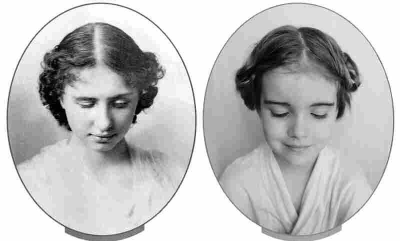 Emma as Helen Keller.