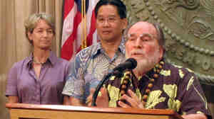 Hawaii's Gov. Neil Abercrombie announced the special session on gay marriage at the Hawaii Capitol in Honolulu in September. The session will begin Monday, Oct. 28.