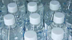 The amount of water to make the bottle could be up to six or seven times what's inside the bottle, according to the Water Footprint Network.