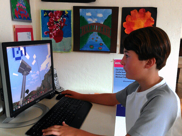 Austin Newman, 10, of Menlo Park, Calif., is not allowed to play video games during the school week. His mother, Michelle DeWolf, says she had to take that step to keep her son focused on his homework during the week.