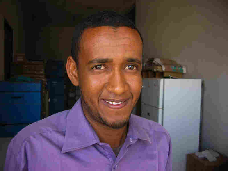 Ethiopian health official Abdulahi Mohamed says vaccinators along the Somali border are charged with immunizing all kids crossing who are under age 15. But he concedes that extremely poor pay may sap the workers' motivation.